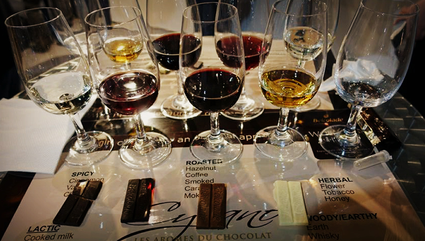 Wine and Chocolate Pairing Vinaria 2017