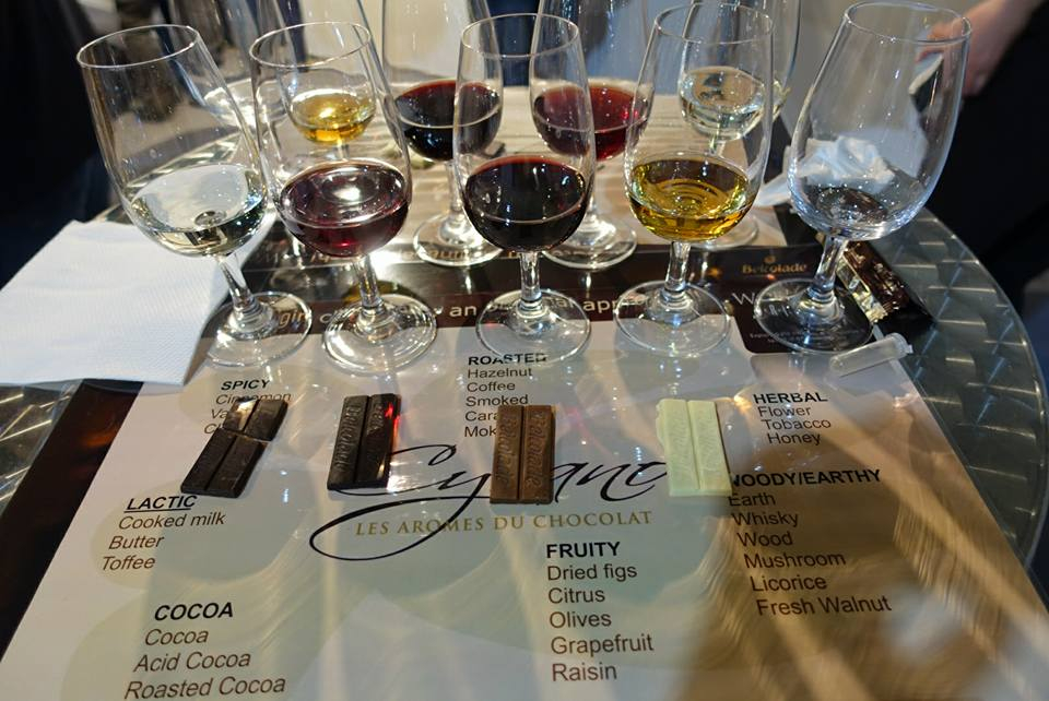 Bulgarian wine and Belgian Chocolate Vinaria 2017