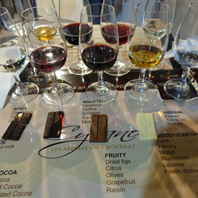 Bulgarian wine and Belgian Chocolate Vinaria 2017