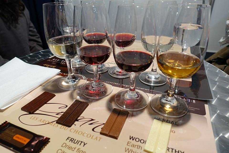 wine and chocolate Tasting Vinaria 2017