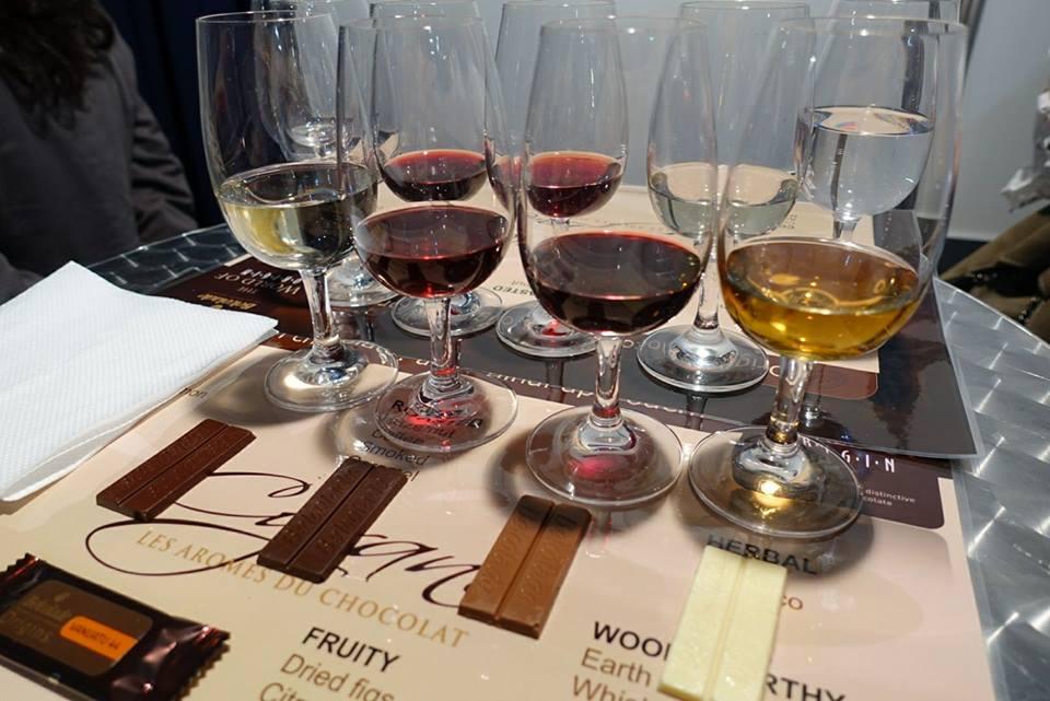 wine and chocolate Tasting Vinaria 2017